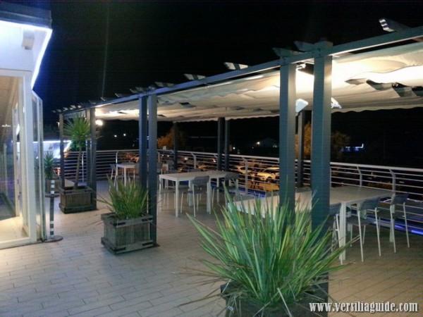 Cena in Terrazza vista mare in Versilia