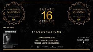 Villetta Ostras Firenze Inaugurazione 2016