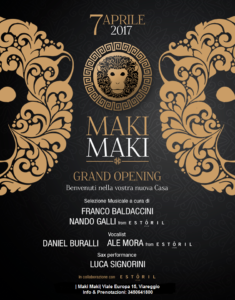 Nuovo Maki Maki Inaugurazione