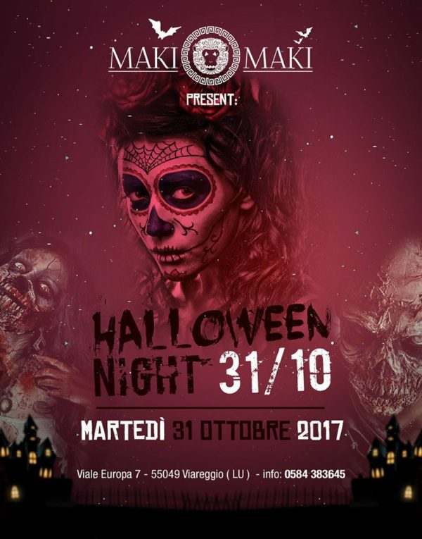 MAKI MAKI presenta HALLOWEEN PARTY 2017