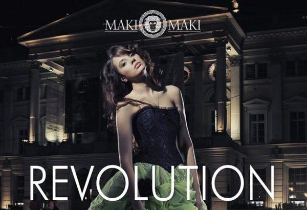 MAKI MAKI Sabato notte Revolution