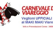 MAKI MAKI presenta i VEGLIONI UFFICIALI del CARNEVALE VIAREGGIO 2018