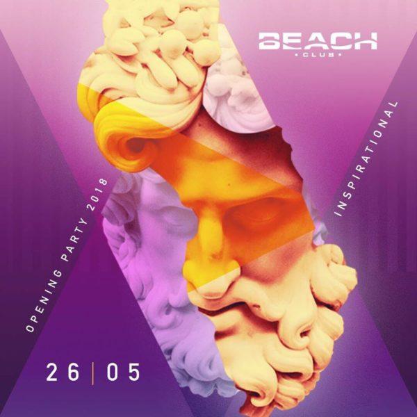 Sabato 26 Maggio 2018 APERTURA Estiva BEACH Club Versilia